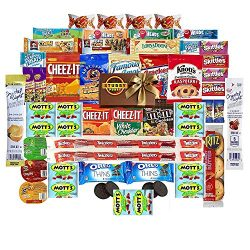 Care Package Stubby Pubby (45 Count) Snacks Bars Chips Candy Cookies Ultimate Variety Gift Box P ...