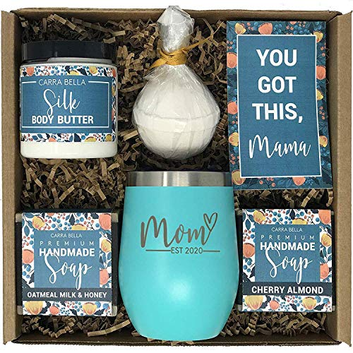 New Mom Gifts Ideas | Mom Est. 2020 Spa Gift Box | Best Present Idea for First Time Mommy w/New  ...