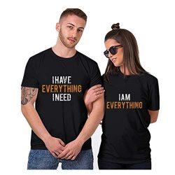 aihihe Wedding Matching Valentine's Day T-Shirt Couples T-Shirts for Boyfriend & Girlf ...