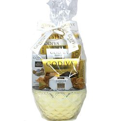 Godiva Gift Basket – Chocolate Assortment (White)