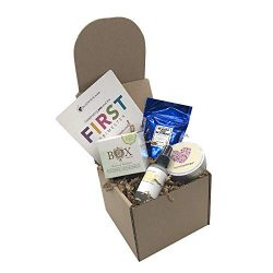 1st Trimester Organic Pregnancy Gift Box (Sweet BlackBerry Ginger)