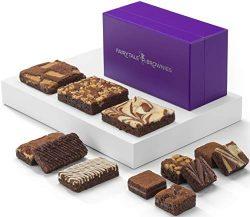 Fairytale Brownies Treasure Medley Gourmet Chocolate Food Gift Basket – Full-Size, Snack-S ...