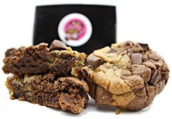 Chocolate Chip Cookies Brownie Gift Basket Gourmet Desserts for Delivery Fresh Baked Gift Box 2  ...