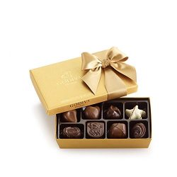 Godiva Chocolatier Assorted Chocolate Gold Ballotin Gift Box, Great for Gifting, Belgian Chocola ...