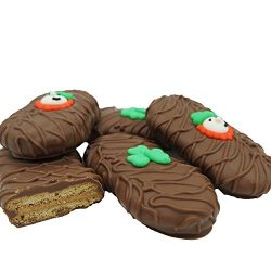Philadelphia Candies Milk Chocolate Covered Nutter Butter Cookies, St. Patrick's Day Lepre ...