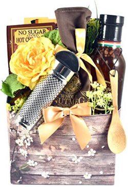 Elegant Farmhouse Breakfast Box – A Breakfast Gift with Pancake Mix, Gourmet Praline Toppi ...