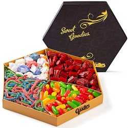Sweet Candy Crave Box Basket, Assortment of Candies Gift Tray for Kids and Adults, Man and Woman ...