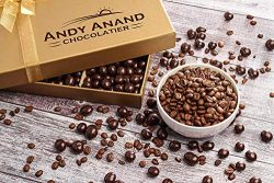 Andy Anand's California Dark Chocolate Covered Espresso Coffee Beans 1 lbs With Teddy Bear ...