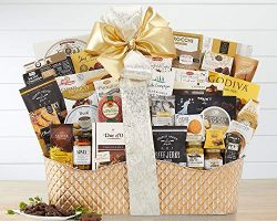 Wine Country Gift Baskets The V.I.P. Ultimate Gifting Experience Gift Basket Overflowing with Br ...