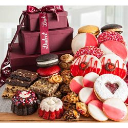 Sweet Hearty Gourmet Tower Gift Basket.