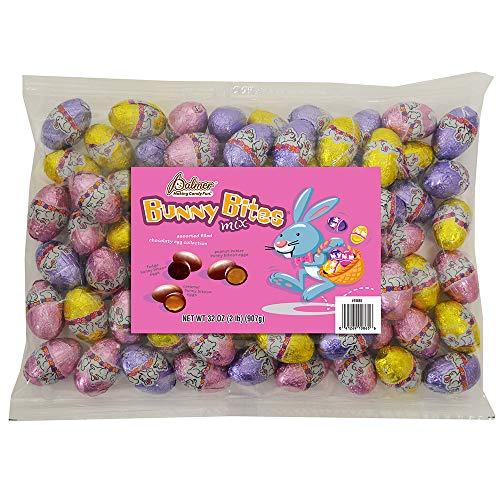 R.M. Palmer Bunny Bites Easter Eggs|Assortment Of Chocolaty Filled Treats | Peanut Butter |Caram ...