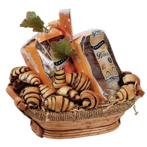 Shiva Babka And rugelach Cinnamon Chanukah Gourmet Gift Basket