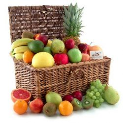 Fresh Fruit Basket A Truly Unique And Satisfying Gift Basket
