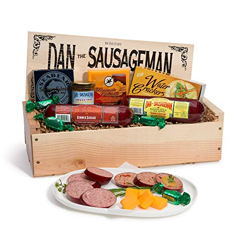 Dan the Sausageman's Gourmet Silver Star Gift Basket -Featuring Seabear Salmon, Smoked Sum ...