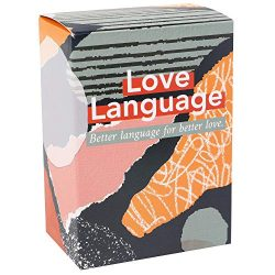 Love Language: The Card Game – 101 Conversation Starter Questions for Couples – to E ...