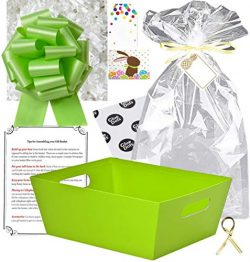 Gift Basket Making Kit Do It Yourself DIY Build Your Own Gift Basket Matching Supplies Market Tr ...