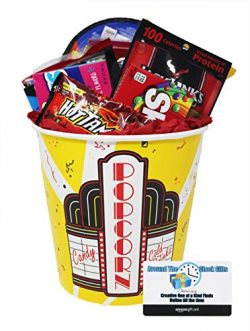 Movie Night Snack Supplies with $15 Dollar Amazon Gift Card to Download Movies or buy DVD' ...