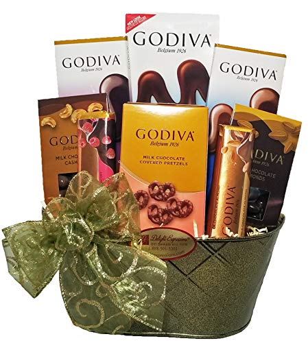 Delight Expressions Chocolate Delights Godiva Gourmet Food Gift Basket