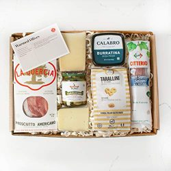 Martha Stewart Antipasto Classics Gift Basket – With Italian Cheeses, Bright Green Sicilia ...