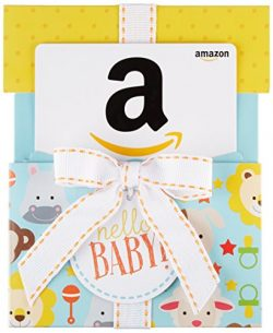 Amazon.com Gift Card in a Hello Baby Reveal