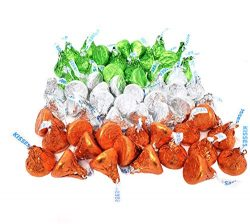 CrazyOutlet Hershey's Kisses Milk Chocolate Candy Bulk Pack, St. Patrick's Day Irish ...