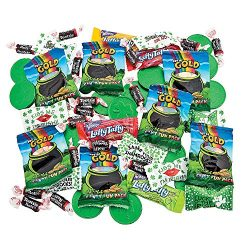 St. Patrick's Day Bulk Candy Mix (200 pieces and over 3 pounds) Assorted Parade and Party  ...