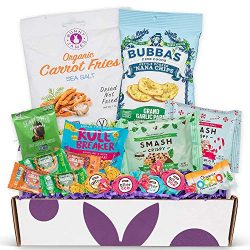 Healthy Gluten Free Sample Box: Bunny James Gluten Free Valentine Basket Contains a Variety of H ...