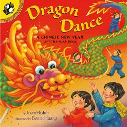 Dragon Dance: A Chinese New Year Lift-the-Flap Book (Puffin Lift-the-Flap)