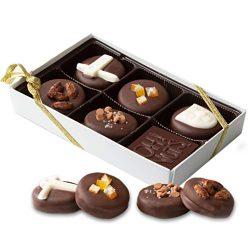 Oh! Nuts Gourmet Purim Gift Box of Chocolate-Covered Oreo Shalach Manos   Six-Piece Window Displ ...