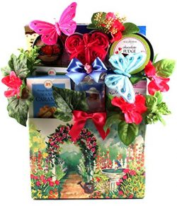 In The Garden, Garden Themed Gift Basket For Women – She Will Treat Her Taste Buds While E ...