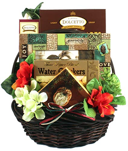 Amazing Lady Gourmet -Women's Birthday, Holiday, or Mother's Day Gift Basket Idea