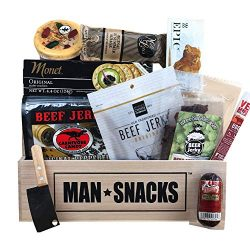 ManSnacks – BEEF BEEF BEEF – A manly assortment of beef jerky, sausage and grub for  ...