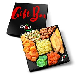 Fruit & Nut Platter, Perfect Gift Box For Everyone- For Healthy Snacking on a Night in-Healt ...