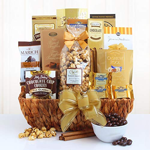 Sweet and Salty Chocolatey Goodness | Gourmet Gift Basket for Any Occasion