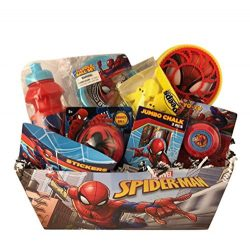 Gift Baskets For Kids Premade Spider Man Games Accessory Toys Peeps Young Boys